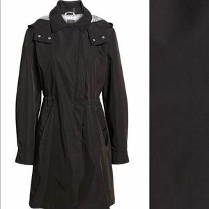 Kristen Blake Tech Hooded Trench Coat - PLUS / 3X